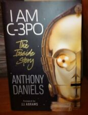 Anthony Daniels I AM C-3P0 ,Autographed Signed 1ste Edition Hardback Book,