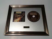 SIGNED/AUTOGRAPHED MAYDAY PARADE - MONSTERS IN THE CLOSET CD FRAMED PRESENTATION