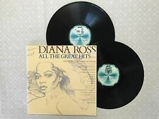 DIANA ROSS ALL THE GREAT HITS 1981 AUSTRALIAN RELEASE DOUBLE LP