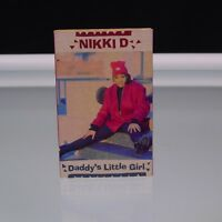 Nikki D 1991 ‎Daddy's Little Girl Cassette Single  Def Jam Recordings Hip Hop