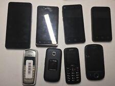 Lot of Assorted Smart Phones and Cell Phones - Motorola Samsung ZTE Nokia etc.