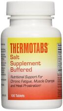 THERMOTABS Salt Supplement Buffered Tablets 100 Tablets (Pack of 3)