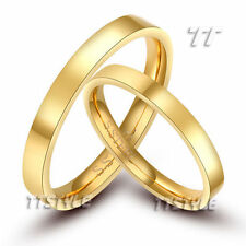 Bands without Stones 14k Engagement & Wedding Ring Sets