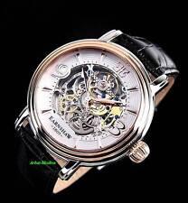 Thomas Earnshaw Men's Longcase Collection Rose Gold IP Automatic Luxury Watch