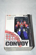 Kaiyodo Revoltech No19 Transformers Optimus Prime Convoy Used complete in Box