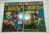 UNEXPECTED # 137, 138  JULY, AUG  1972   TWO ISSUE LOT