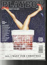 PLAYBOY MAGAZINE, ENTERTAINMENT FOR MEN  ALL I WANT FOR CHRISTMAS DECEMBER, 2013