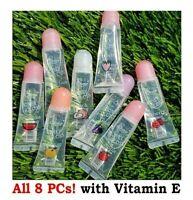 Starry Honey Crystal Lip Gloss Set - All 8 PCs! with Vitamin E, moisturize lips