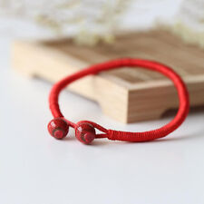 Unisex Men Women Lucky Bracelets Bead Red String Ceramic Bracelets