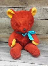 Vintage Teddy Bear 1960's 1970's Knickerbocker Retro Plush Toy carnival Prize VG