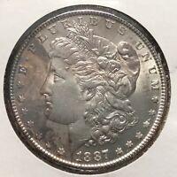 1887 $1 Morgan Silver Dollar (47113)