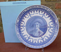 "Wedgwood  ""Queen Elizabeth the Queen Mother""  Plate"