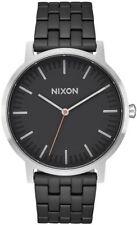 Nixon Porter Watch Black/Steel NEW in box