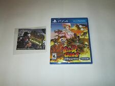 Wild Guns: Reloaded w/Limited Edition Keychain Sony PlayStation 4  FREE SHIPPING
