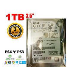 "1TB 2.5"" HGST Travelstar 7K1000 SATA Internal Hard Disk 7200RPM PS3 MAC PS4"