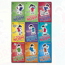 The World of Norm Collection Jonathan Meres 9 Books Set (May Contain Nuts, Etc)