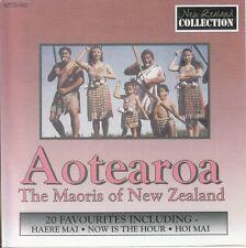 AOTEAROA The Maoris Of New Zealand CD
