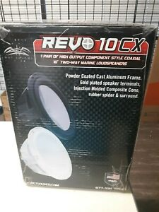 Wet Sounds REVO 10CX 2way marine speakers