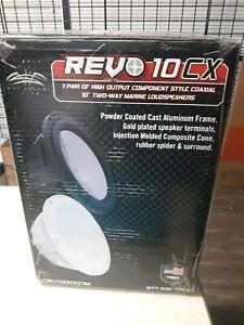 Wet Sounds REVO 10CX 2way marine speakers