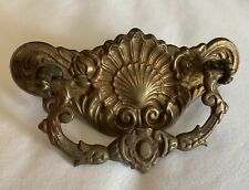 "French Country Brass Art Nouveau Victorian Antique Hardware Drawer Pull 3""center"