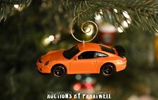 Custom '07 '08 '09 Porsche 911 Gt3 1/64th Scale Christmas Ornament Adorno 911