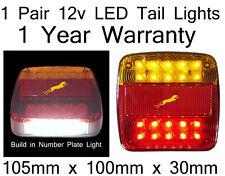 LED TailLight 2x12v LED TailLights for forklift,caravans,trucks,Not for Trailers