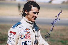 Arturo Merzario HAND SIGNED PHOTO 12x8.