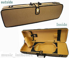 Special Designed - 4/4 Pro. Enhaced Wooden Violin Case + Free Violin String Set