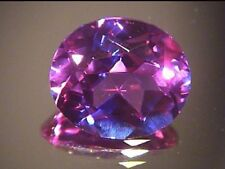 7x5 mm oval  color change lab simulated Alexandrite