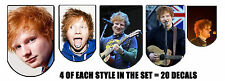 20 Mixed Set ED SHEERAN Nail Waterslide Decals Nail Transfers Nail WRAPS