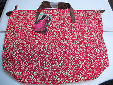 Taylor Swift Wonderstruck ENCHANTED 100% Cotton Red Floral Tote Bag