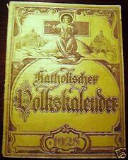 Katholischer Volkskalender  1928
