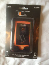 TECH/21 D30 SLIM FIT SLIP LEATHER APPLE iPHONE 3G & 3GS CASE