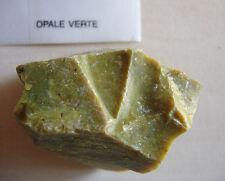 Belle Pierre Minérale Brute Opale Verte 36 g