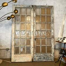 Pair Of New Orleans Salvage Fench Doors , Very Thick 2 1/8""