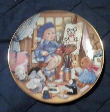 "Carol Lawson Plate The 1993 ""Art Class"" A2519"