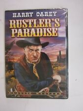 HARRY CAREY - Rustlers Paradise (DVD, 2010)  BRAND NEW   FACTORY SEALED  FREE SH