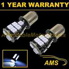 2X 380 BAY15D 1157 WHITE 18 SMD LED STOP TAIL BRAKE LIGHT BULBS ST201101