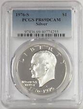 1976 S Eisenhower Ike Silver Dollar PCGS PR69CAM # 3