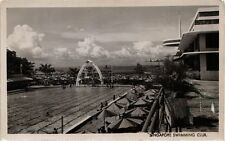 SINGAPORE PC REAL PHOTO Swimming Club (a1446)