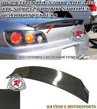 TD-Style Rear Trunk Spoiler Wing (Carbon) Fits 00-09 Honda S2000 AP1 AP2