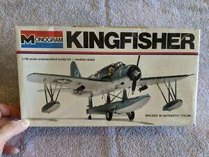 Lot 250 -  Kingfisher - 1/48 Scale - Monogram MIB 1977