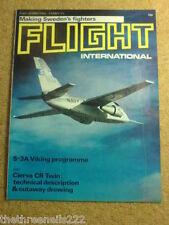 FLIGHT INTERNATIONAL #3287 - SWEDENS FIGHTERS - 9 March 1972
