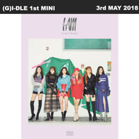 (G)I-DLE I Am 1st Mini Album CD+Poster+Booklet+PhotoCard+Sticker KPOP