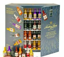 Anthon Berg DARK Chocolate Liqueurs 64 Liquor Filled Bottle Candy 8 Spirits Box