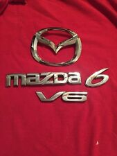 2008 MAZDA 6 V6 TAILGATE EMBLEM SET. (361)