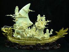 """24"""" Golden Dragon Boat (01B2) - Ltd Qty"""