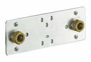 Marflow Shower PL8 - Shower Fixing Plate - Exposed Bar Shower Valve Fixing Kit