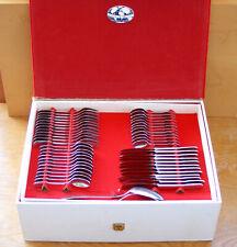 Cook-o-Matic Servizio Posate Acciaio Inox 18/8 Vintage '80 Cutlery Steel Set