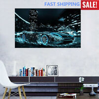 Cool Speed Car Water 5D Diamond Embroidery Painting DIY Cross Stitch Home Decor